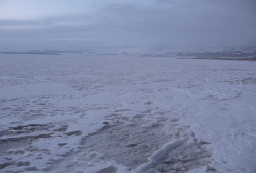 Karakul Lake - All Frozen
